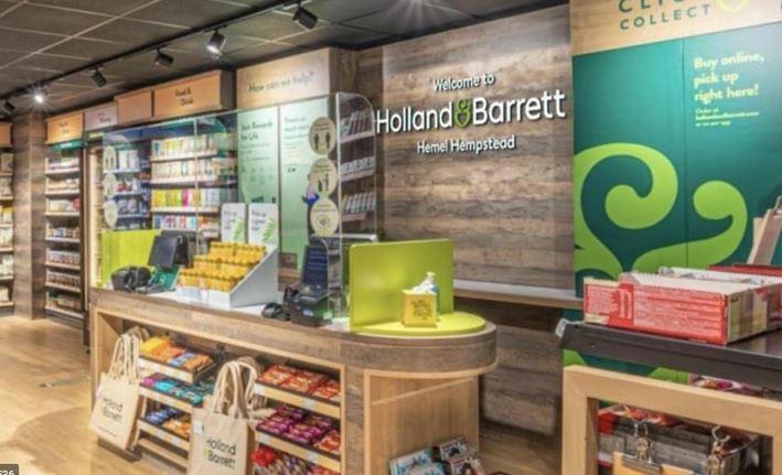 Holland & Barrett fenntarthatóság