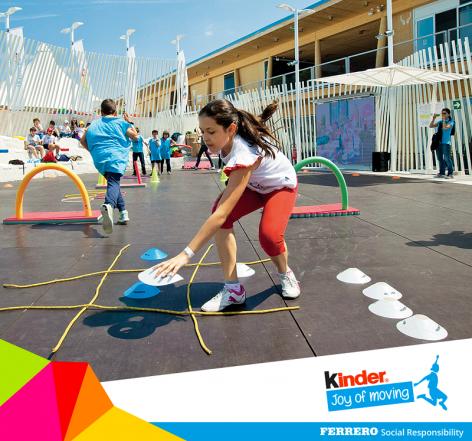 Folytatódik a Kinder Joy of moving – A mozgás öröme program!