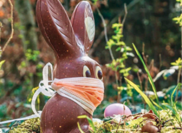 Last year the Easter rabbit stayed put, but this year it plans to hop