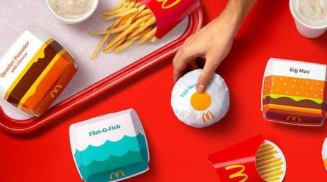 Új csomagolási dizájn a McDonald's-tól
