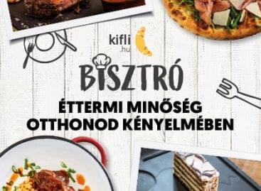 Prémium éttermi fogásokat is visz a Kifli!