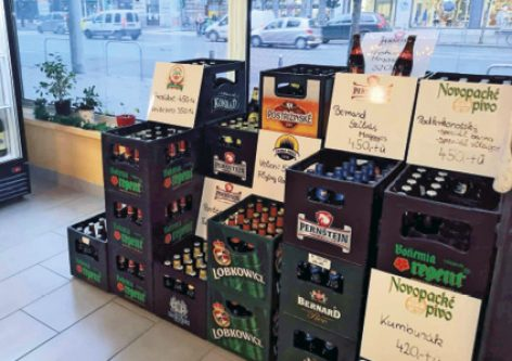Craft beers during the pandemic