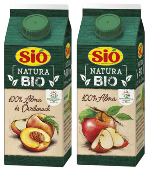 Sió Natura Bio gyümölcslé