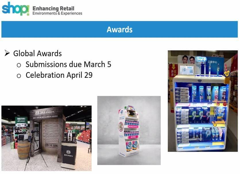 Shop! fórum Awards dia