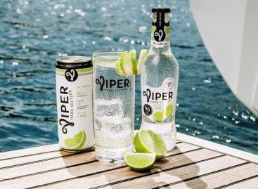 Hard seltzer: új alkoholos italkategóriát építve robban be a magyar piacra a Viper