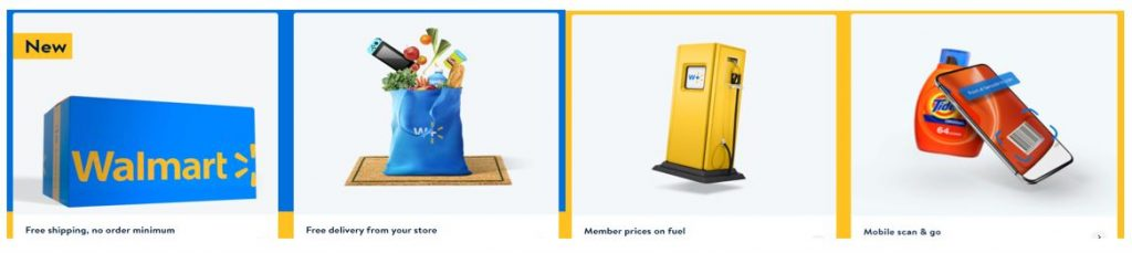 Walmart+ tagság előnyei