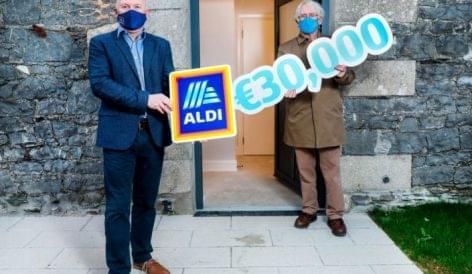 30.000 eurót adományoz az Aldi egy hajléktalanokat segítő szervezetnek