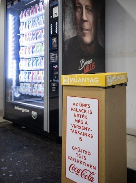 Coca-Cola: Az üres palack és alumíniumdoboz is érték, a versenytársaké is!