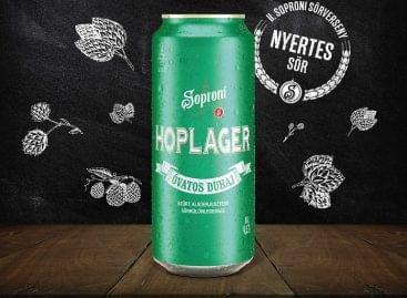 Megérkezett a II. Soproni Sörfőzőverseny nyertes söre: itt az új Óvatos Duhaj Hoplager