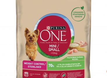 Purina ONE MINI/SMALL Weight Control száraz és nedves kutyaeledel