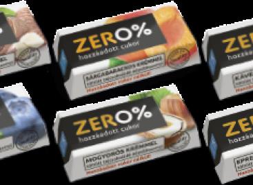 Szerencsi ZERO% – 21 g 0% hozzáadott cukor nélkül töltött csokoládészeletek maltitollal édesítve