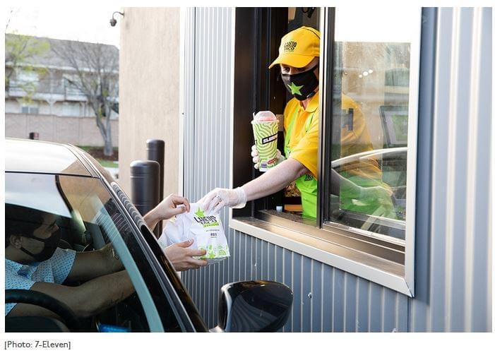 7-Eleven drive-thru taco
