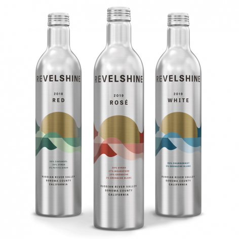 Outdoor-Friendly Aluminum Bottles for Revelshine Wine – Picture of the day