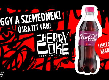 Közkívánatra visszatért a Cherry Coke!