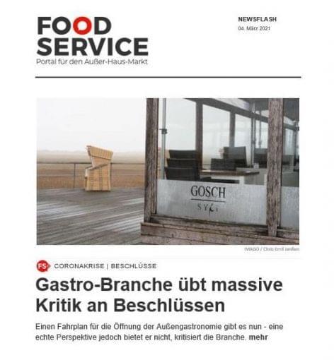 (HU) Food Service hírlevél, március 4, címlaphír!