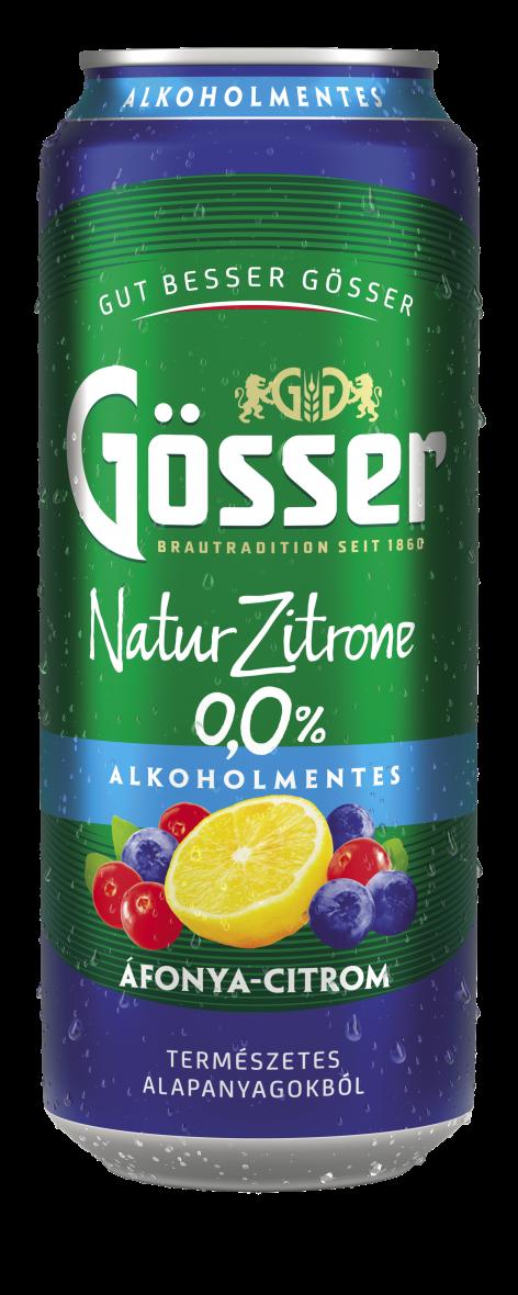Gösser Natur Zitrone