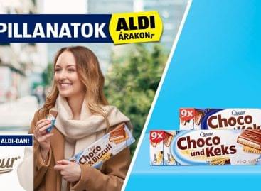 Csokoládés finomságok az ALDI-ban