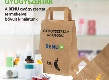 Kifli és BENU: gyógyszertári elérés a Kifli.hu-n