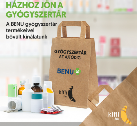 Kifli and BENU pharmacy access on Kifli.hu