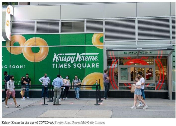 Krispy Kreme üzlet