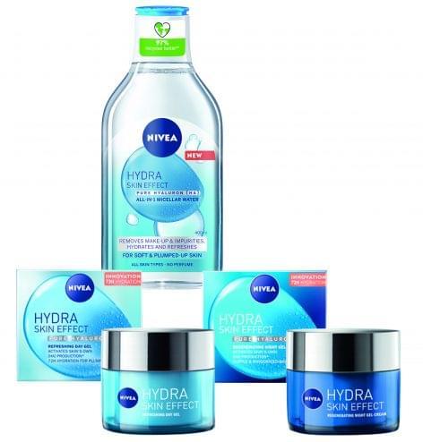 NIVEA® Hydra Skin Effect termékcsalád
