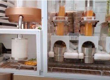 Robotos-kézműves burger – A nap videója