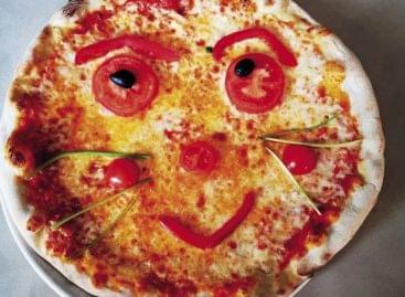 101 mosolygós pizza