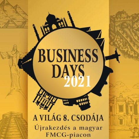 Business Days 2021. szeptember 20–24. <br>Hotel Pelion, Tapolca