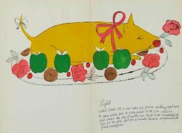 Andy Warhol szakácskönyve – A nap képe