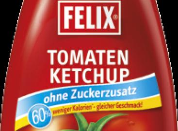 Felix ketchup hozzáadott cukor nélkül1,4 kg