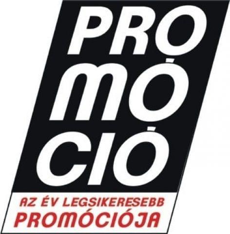 """Award Winner of the """"Az év legsikeresebb promóciója 2020"""" Competition"""