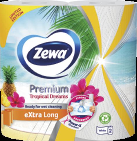 Zewa Tropical Dreams Premium Extra Long háztartási papírtörlő