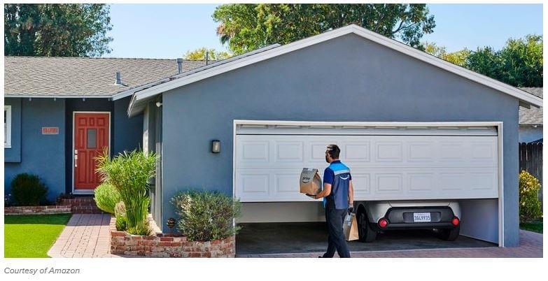Amazon garázsba-szállítás