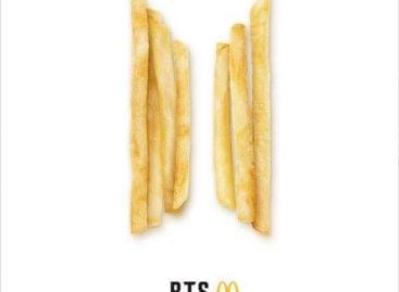 A McDonald's étteremlánc a K-pop-sztár BTS-sel kötött szerződést
