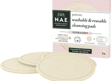 N.A.E. Purezza washable and reusable cleansing pads