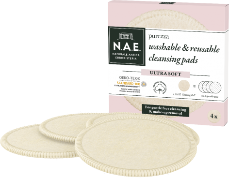 N.A.E. Purezza mosható & többször használható arctisztító korongok