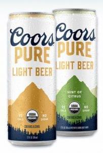 Coors Pure 2 ízben