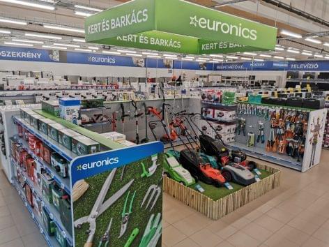 Az Euronics országszerte új termékkategória értékesítését kezdi meg üzleteiben