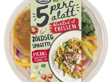 • 5 perc alatt grill camember sajtos salátatál • 5 perc alatt füstölt grill mozzarellás salátatál • 5 perc alatt zöldségspagetti
