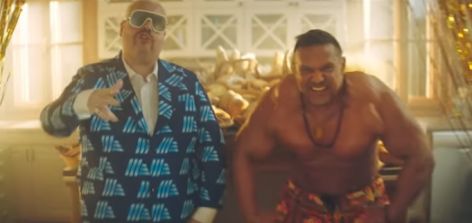 Underground rapper és testépítő világbajnok az ALDI klipjében