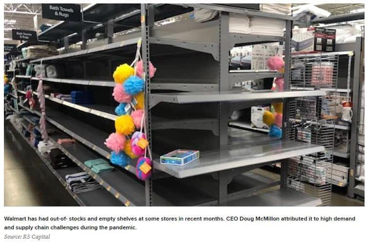 Rendetlen Walmart
