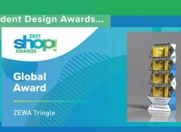 Zewa Tringle – Hungarian winner at the Global Awards