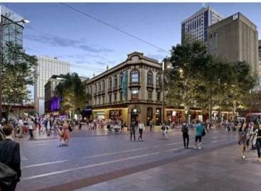 Bevásárlóutca Sydney központjában