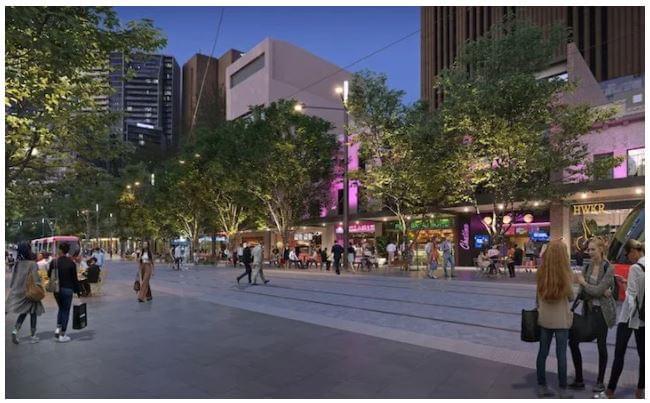 Itt lesz Sydney bevásárlóutcája