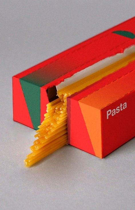 Spagettiadagoló tésztacsomagolás – A nap képe