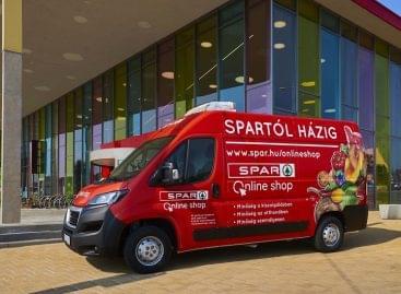 Két számjegyű forgalmi növekedésre számít idén a SPAR online shop