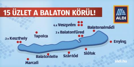 Így készül az ALDI a nyári szezonra – a Balatonon is