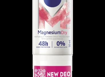 NIVEA Magnesium Dry Fresh és Magnesium Dry golyós dezodorok 50 ml