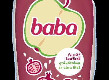 Baba – Almafröccs, Gránátalma és alma illatú tusfürdő