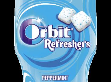 Orbit Refreshers Bottlecukormentesrágógumi
